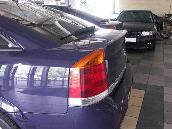 Лип спойлер багажника OPEL Vectra C (02-08) Sedan/Hb GRP