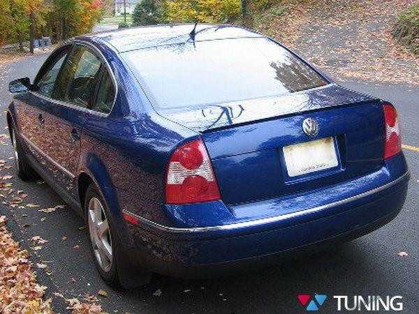 Лип спойлер VW Passat B5+ 3BG (01-05) Sedan ABS