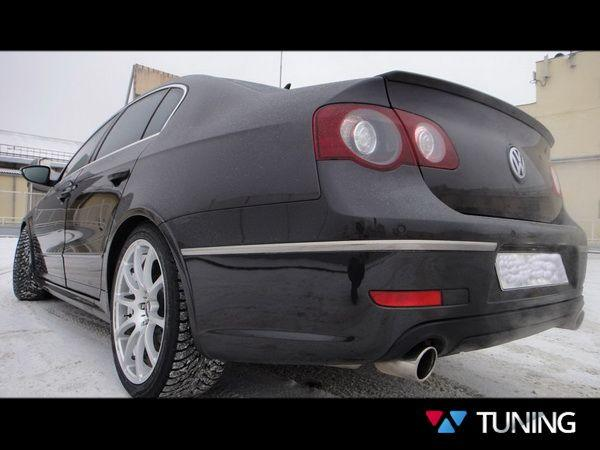 """Лип спойлер VW Passat B6 Sedan (05-10) """"R36"""""""