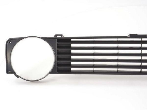 Решётка радиатора VW Golf I (79-83) две фары чёрная