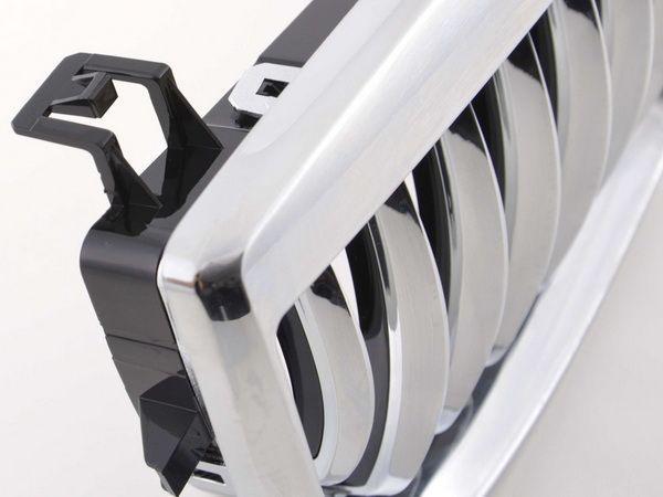 Решётка радиатора BMW E87 (2004-2007) хром
