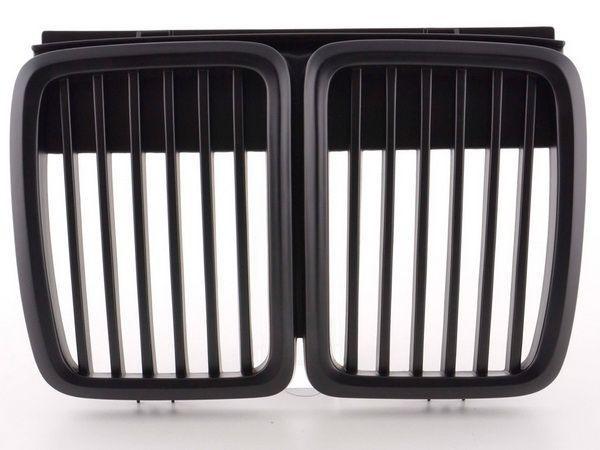 Решётка радиатора BMW E30 (1984-1990) чёрная - SPORT