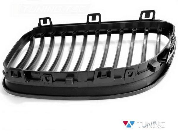 Решётка радиатора BMW E92/E93 (2010+) рестайлинг - чёрная глянцеая 3