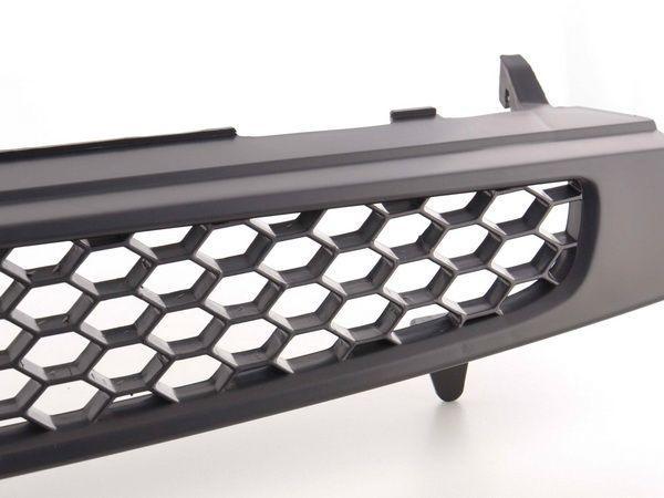 Решётка радиатора FORD Fiesta Mk6 (02-05) ЧЁРНАЯ