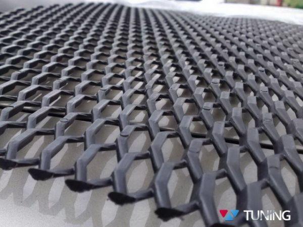 Сетка пластиковая ячейка шестигранник 21х6 мм для тюнинга