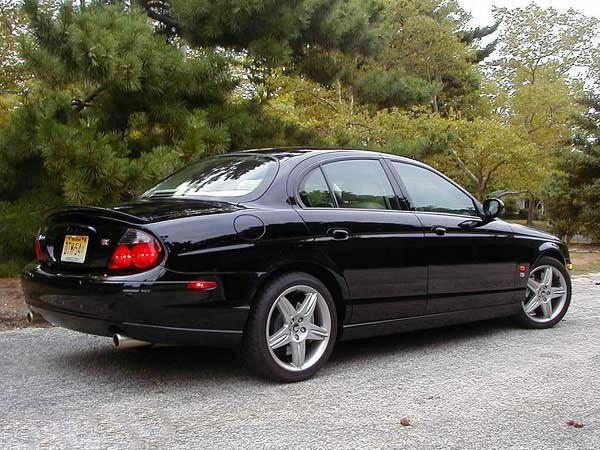 Спойлер багажника JAGUAR S-Type R (2002-2007) 3