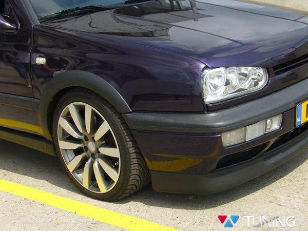 """Накладка передняя VW Golf III (92-99) """"VR6"""" ABS"""