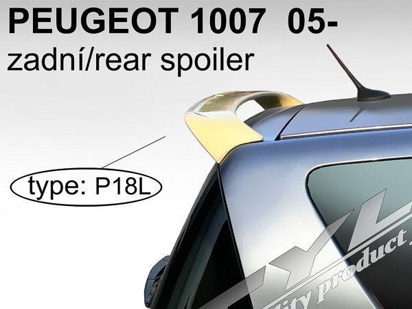 Спойлер - козырёк PEUGEOT 1007 (04-09) 3D