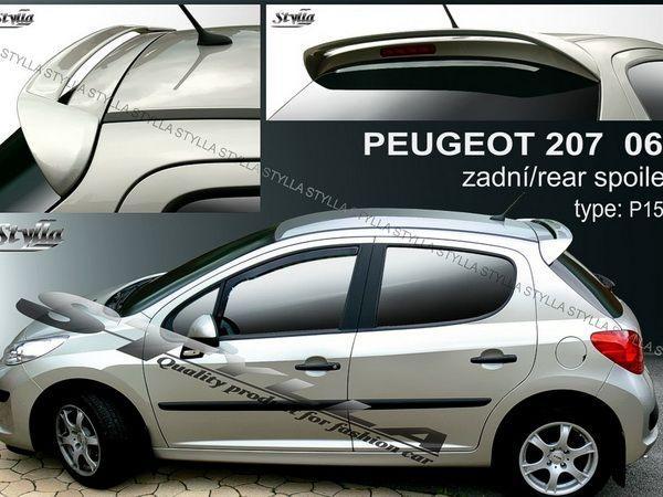 Козырёк - спойлер PEUGEOT 207 (2006-) Hatchback