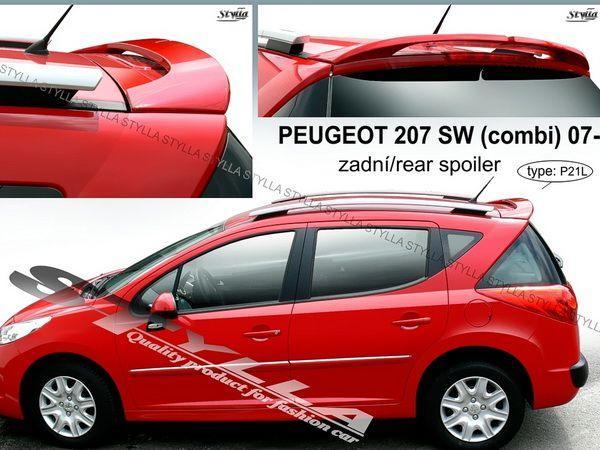 Спойлер PEUGEOT 207 (2007-) Combi