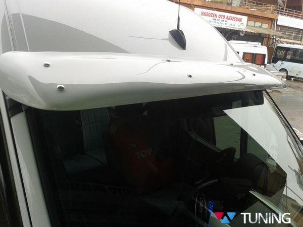 Козырёк лобового стекла VW Crafter I - под покраску на раме