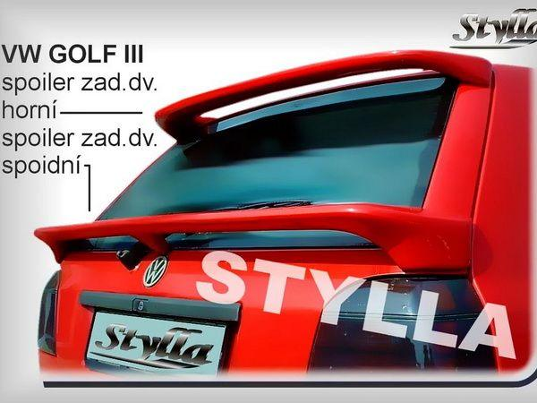 Спойлер нижний VW Golf III Hatchback на трёх ножках