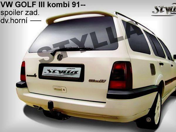 Спойлер VOLKSWAGEN Golf III (93-99) Combi