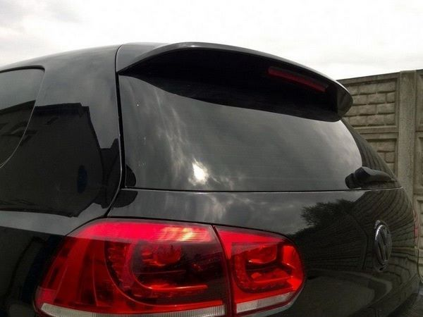 "Спойлер над стеклом VW Golf VI Hatchback ""GTI"""