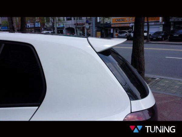 Спойлер - козырёк VW Golf VI Hatchback на трёх ножках