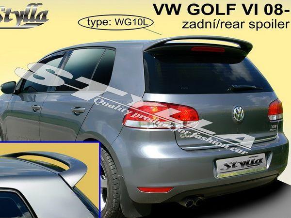 """Спойлер VOLKSWAGEN Golf VI Hatchback """"STYLLA"""""""