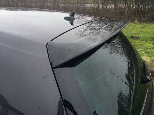 "Спойлер над стеклом VW Golf 7 VII HB ""GTI Look"""