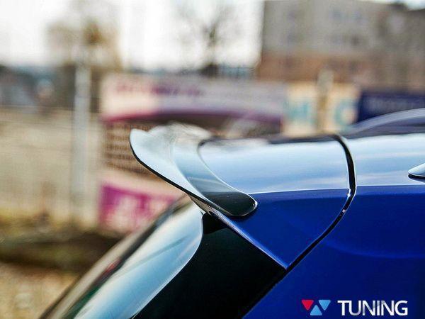 Диффузор заднего спойлера VW Golf 7 R Variant 1