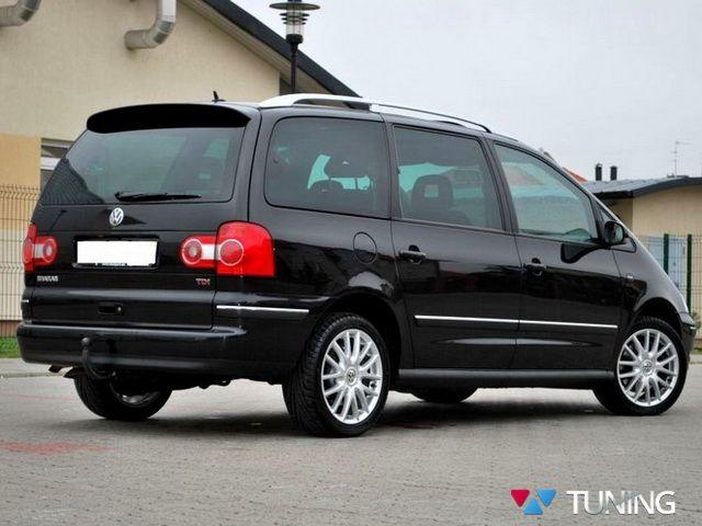 Спойлер VW Sharan I FL (2000-2010) рестайлинг - фото #2