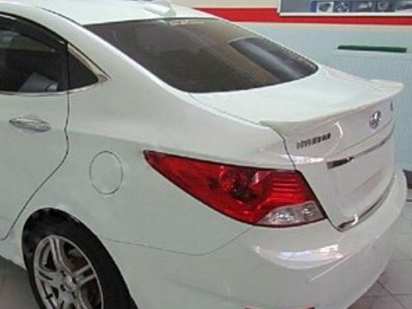 Лип спойлер HYUNDAI Accent BLUE Solaris (2010-)
