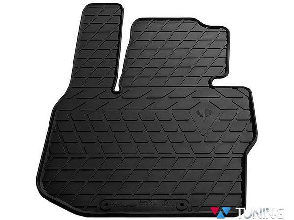 Чёрный коврик резиновый водительский BMW X3 G01 - PREMIUM