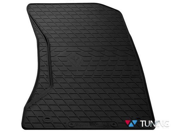 Коврик пассажирский MERCEDES W211 - резиновый чёрный PREMIUM