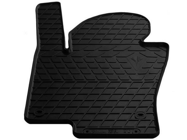 Чёрный коврик резиновый водительский VW Passat CC - Premium