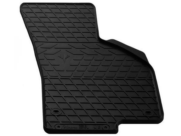 Чёрный коврик резиновый пассажирский VW Passat CC - Premium
