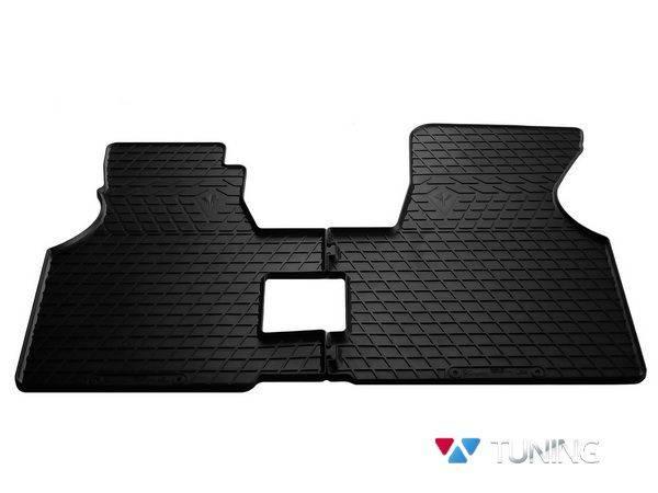 Коврики резиновые передние VW T4 (90-03) - Stingray PREMIUM
