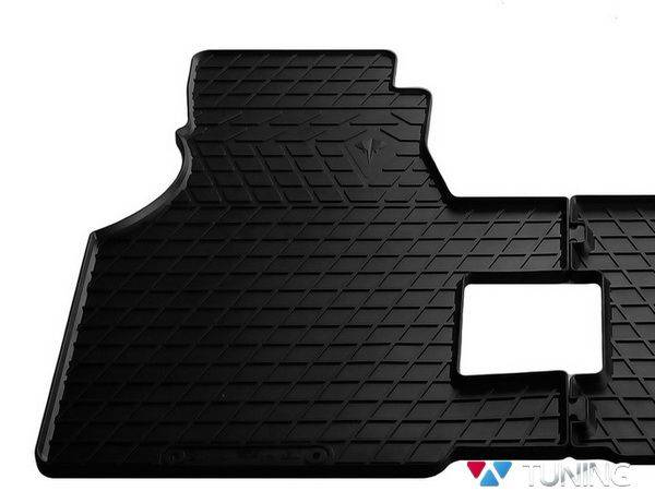 Коврик резиновый передние VW T4 (90-03) - Stingray PREMIUM - водительский