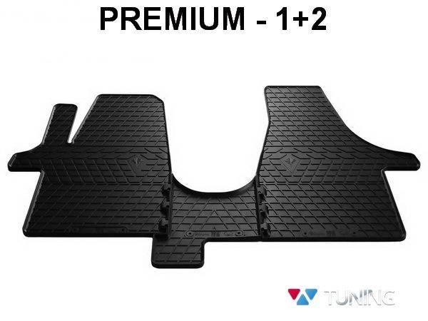 Коврики резиновые передние VW T5 - Stingray