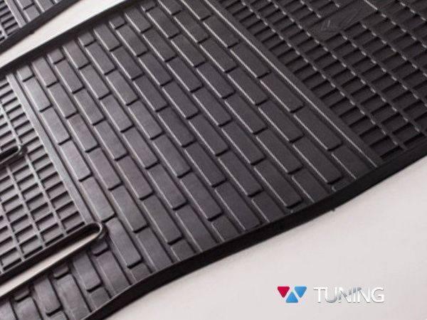 Коврики резиновые передние VOLKSWAGEN T5 - Stingray - подпятник