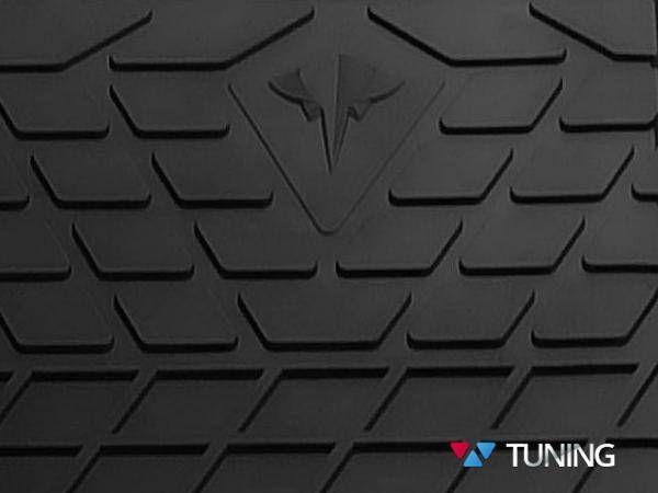 Резиновые коврики VOLKSWAGEN T6 (2015-) - логотип Stingray