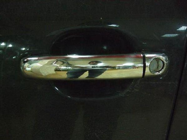 Хром накладки на дверные ручки AUDI Q7 (2009-)