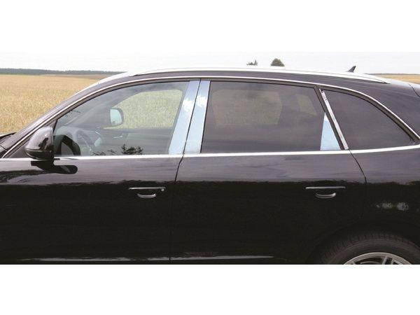 Хром молдинги дверных стоек AUDI Q5 8R (2008-)