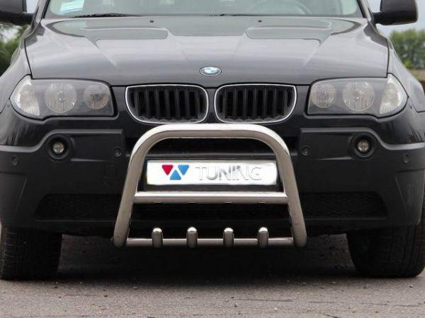 Кенгурятник BMW X3 E83 (2003-)