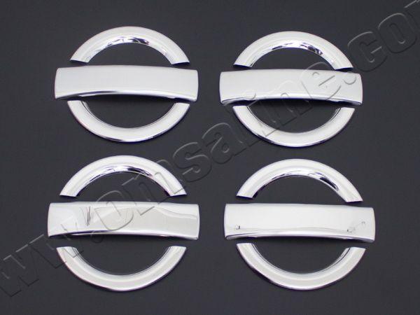 Хром накладки на дверные ручки FIAT Doblo I (2000-2009) на четыре двери