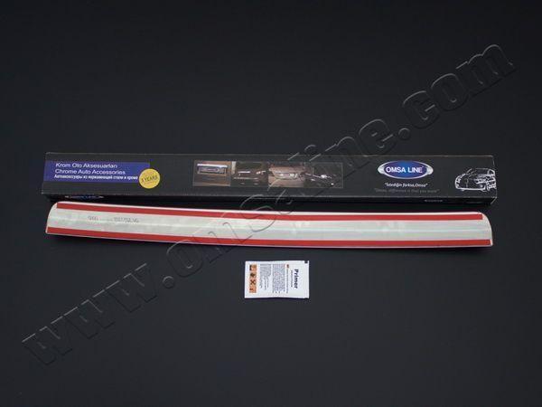 Хром накладка над номером багажника FIAT Fiorino (2008-)