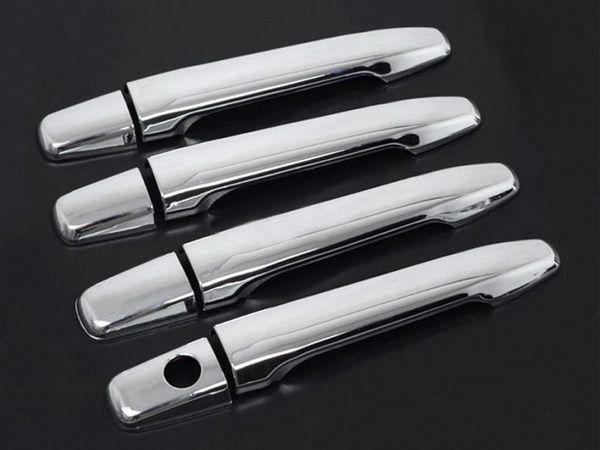 Хром накладки на дверные ручки без сенсоров MITSUBISHI ASX (2010-)