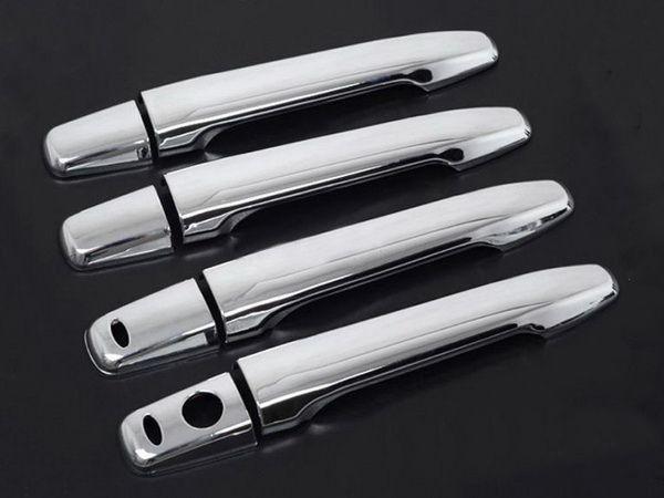 Хром накладки на дверные ручки из сенсорами MITSUBISHI ASX (2010-)