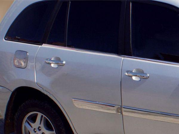 Хром накладки на дверные ручки CHERY Tiggo (2006-2013)