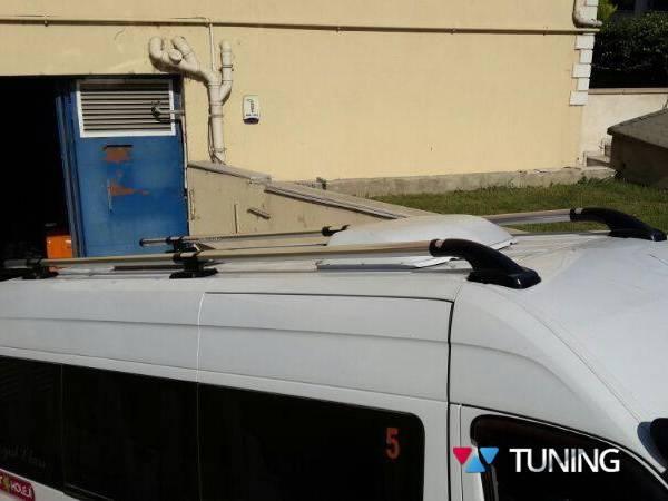Рейлинги на крышу MERCEDES Sprinter W901 - SHARK хром
