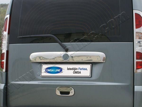 Хром накладка на ручку багажника FIAT Doblo I (2000-2009)