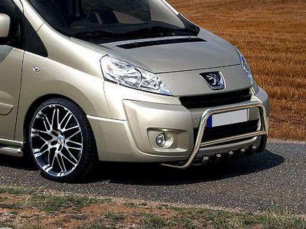 Защита передняя (кенгурятник) FIAT Scudo (2007-)