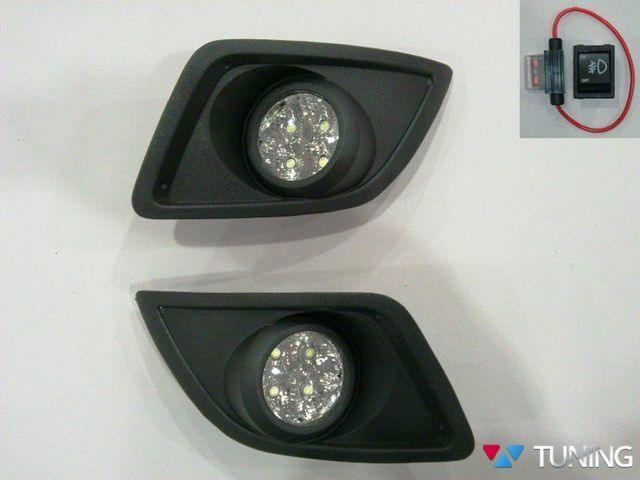 Противотуманки FORD Fiesta Mk6 FL (05-08) LED диодные