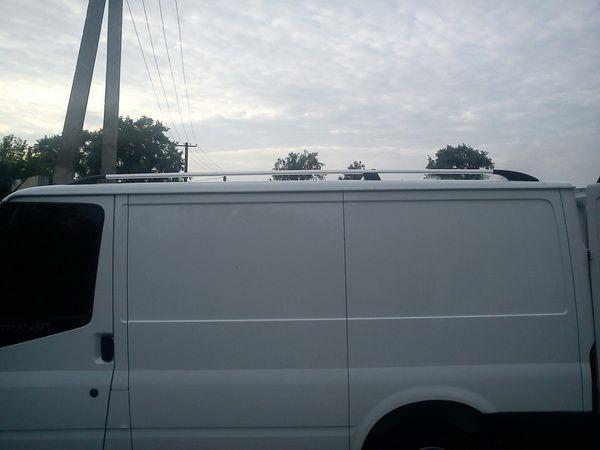 Рейлинги на крышу FORD Transit (2003-2014) хром