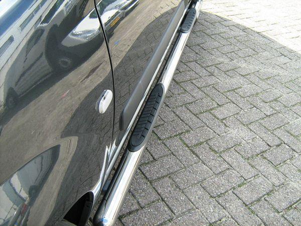 Пороги боковые (труба с проступями) FIAT Ducato (2006-)
