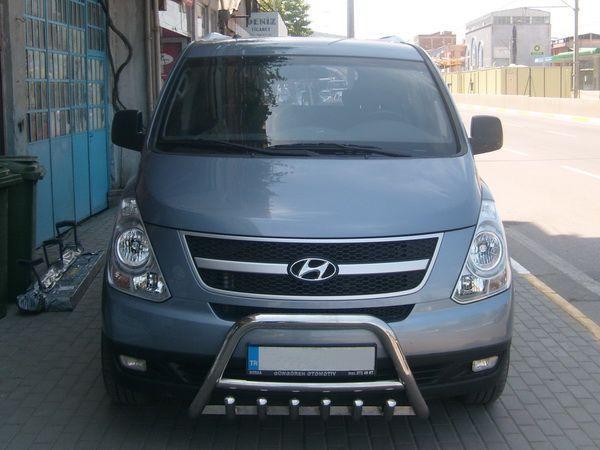 Защита передняя (кенгурятник) HYUNDAI Starex H300 (2008-)