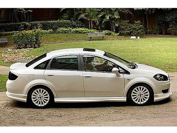 Лип спойлер багажника FIAT Linea (2007-) Sedan 3