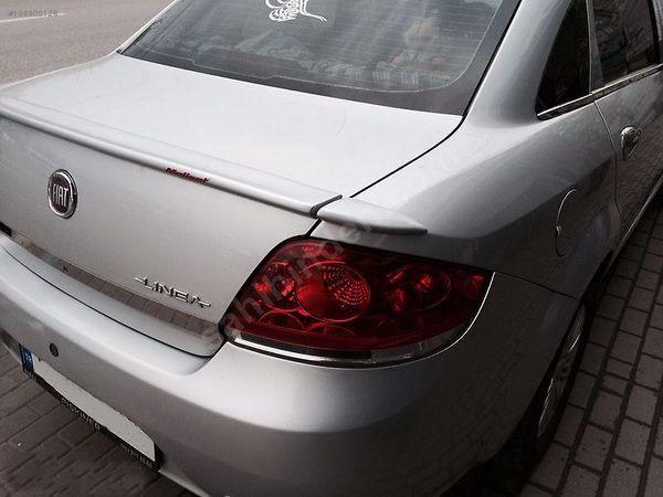 Спойлер с заходами на крылья FIAT Linea (2007-)